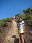 Início da escada