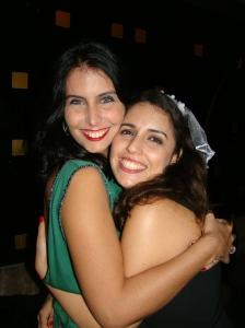 Eu e a noivinha!