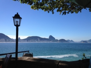 Vista-Forte de Copacabana