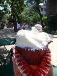 Cupcake de vanila... Hum...