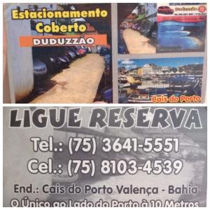 Estacionamento Valença, Bahia