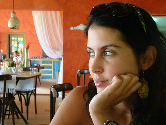 No restaurante Villa das Pedras - 2ª Praia