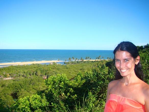 No Quadrado de Trancoso admirando as suas praias lá longe