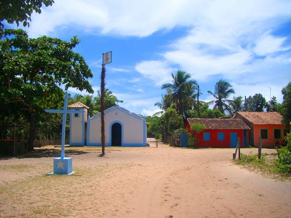 Centrinho de Caraíva e suas areias escaldantes