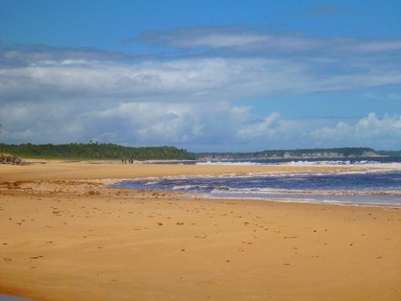 Olhando em direção a Praia de Satu