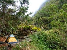 Camping 1ª noite